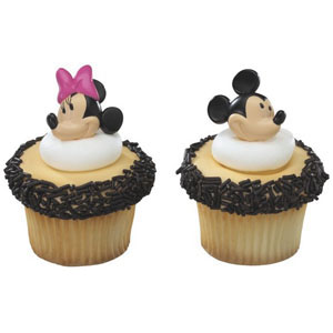 Rings - Mickey & Minnie Mouse