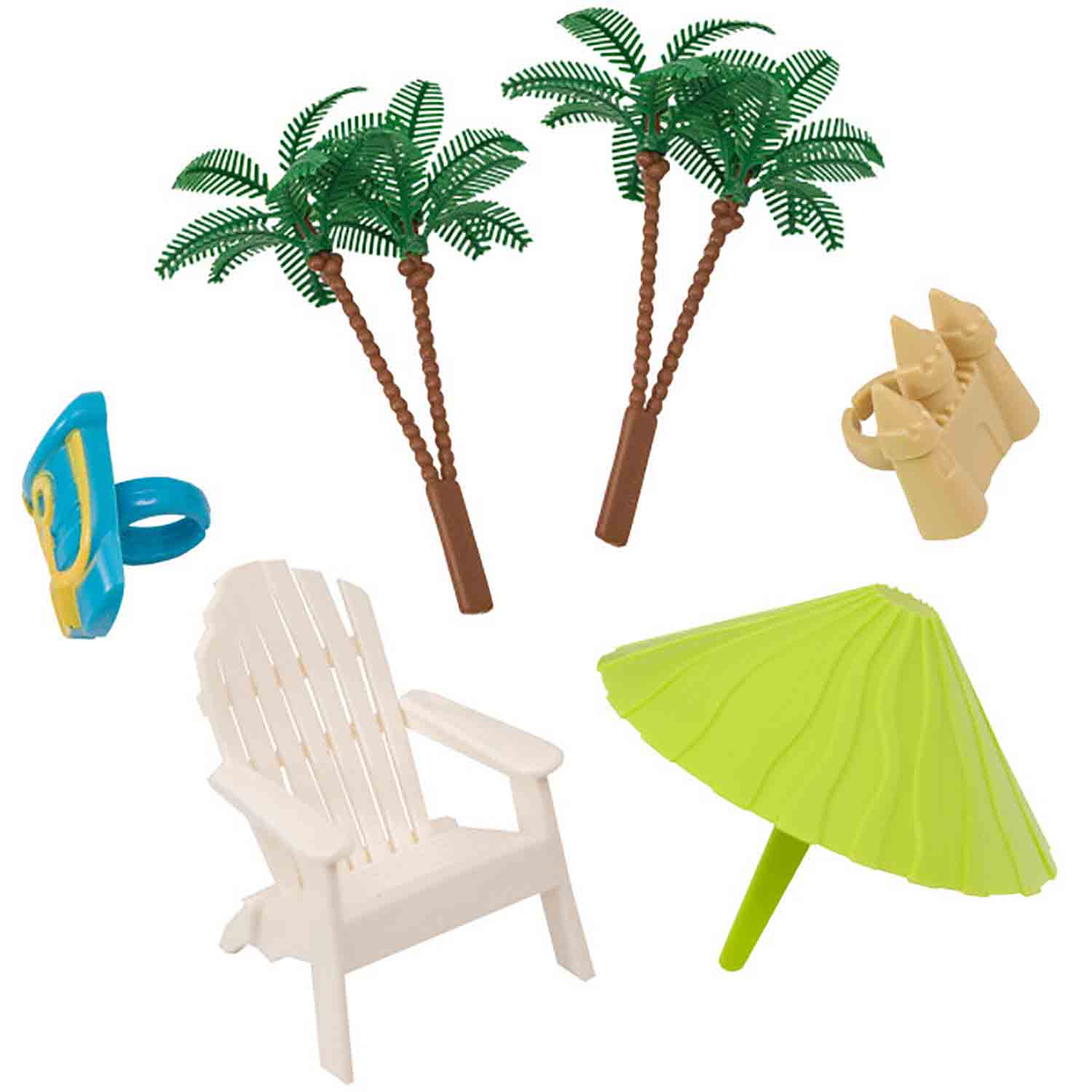 Beach Chair & Umbrella Set