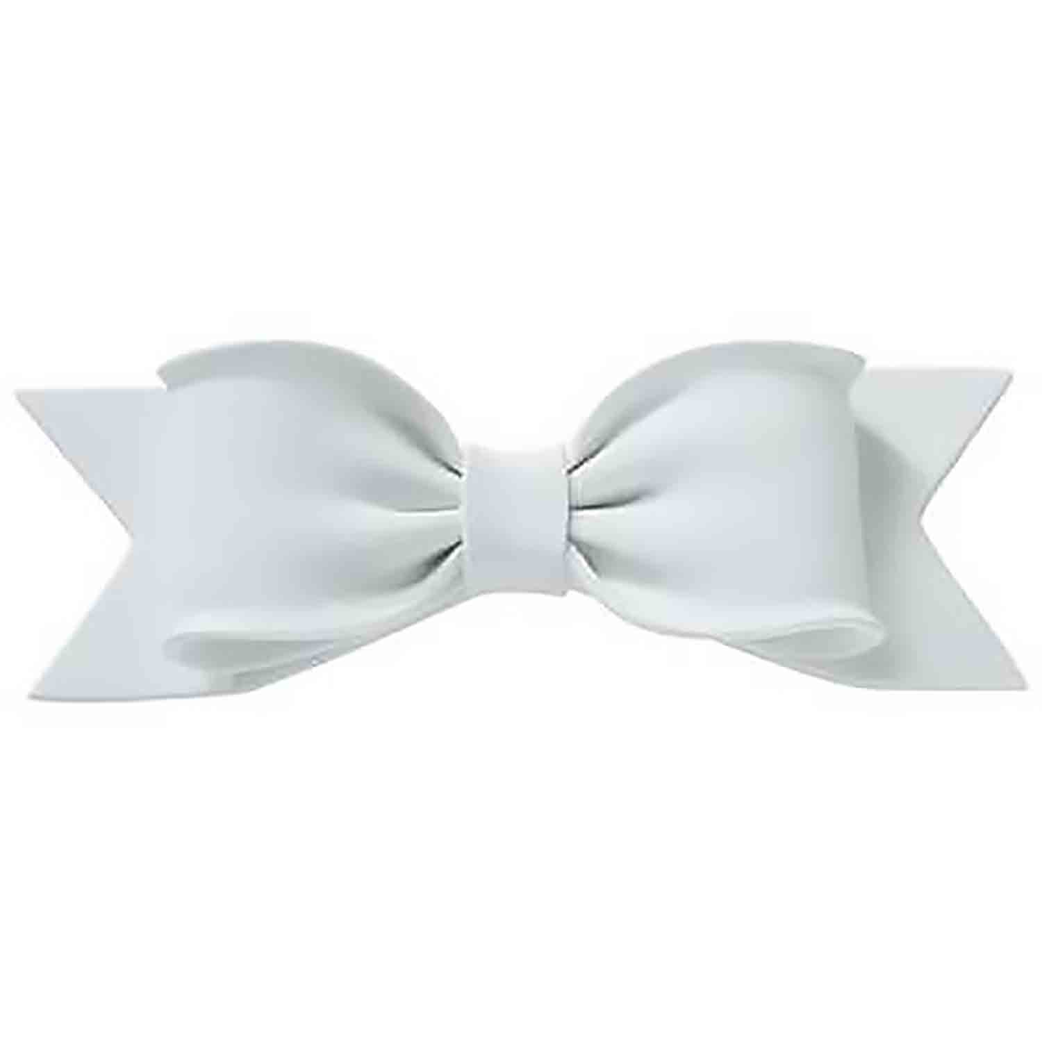 Large White Gum Paste Bow