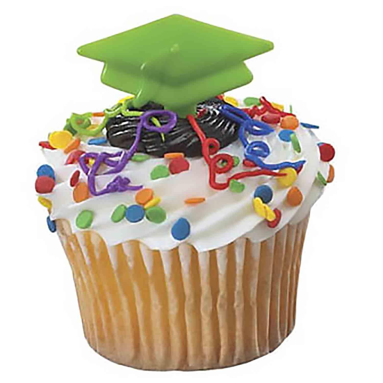 Picks - Graduation Cap/Green
