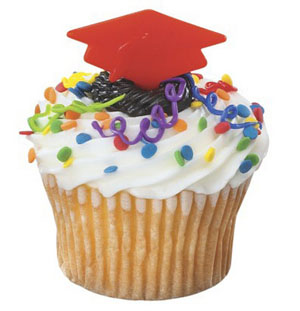 Picks - Graduation Cap/Red