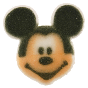 Dec-Ons® Molded Sugar - Mickey Mouse