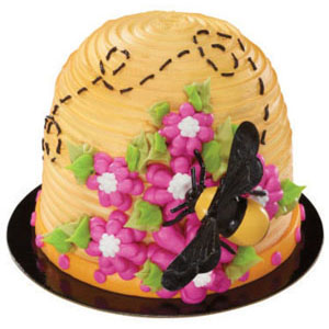 Bee Cake Decoration