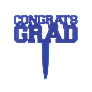 Blue Congrats Grad Pick
