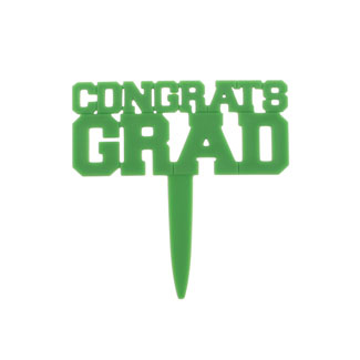 Green Congrats Grad Pick
