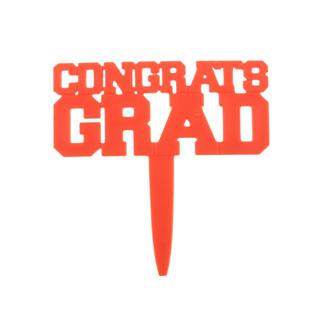 Red Congrats Grad Pick