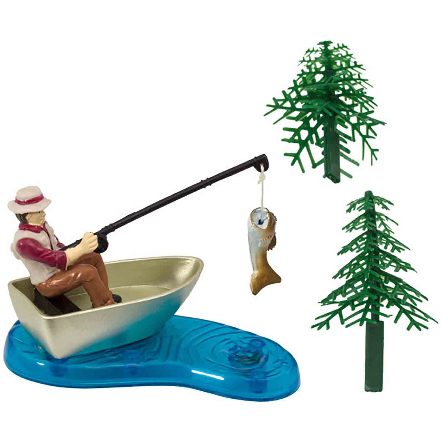 Fisherman Cake Decoration Set
