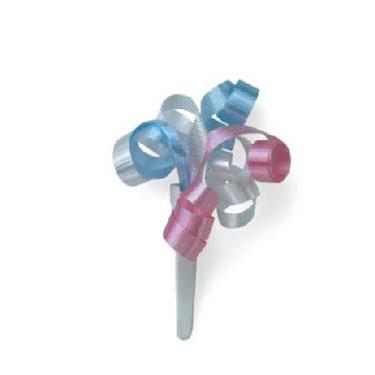 Small Ribbon Pick- Pastel Colors