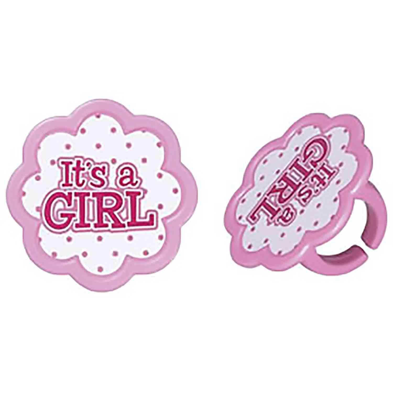 It's A Girl Rings