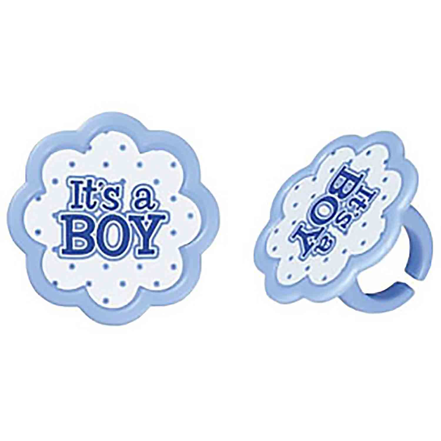 It's A Boy Rings