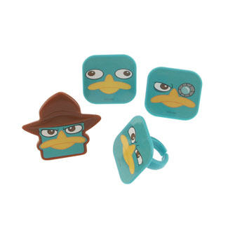 Agent P Face Rings