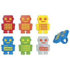 Robot Party Rings
