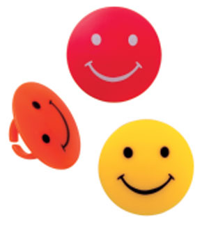 Smiley Face Rings