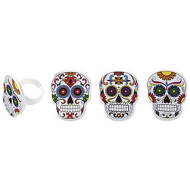 Die De Los Muertos Rings