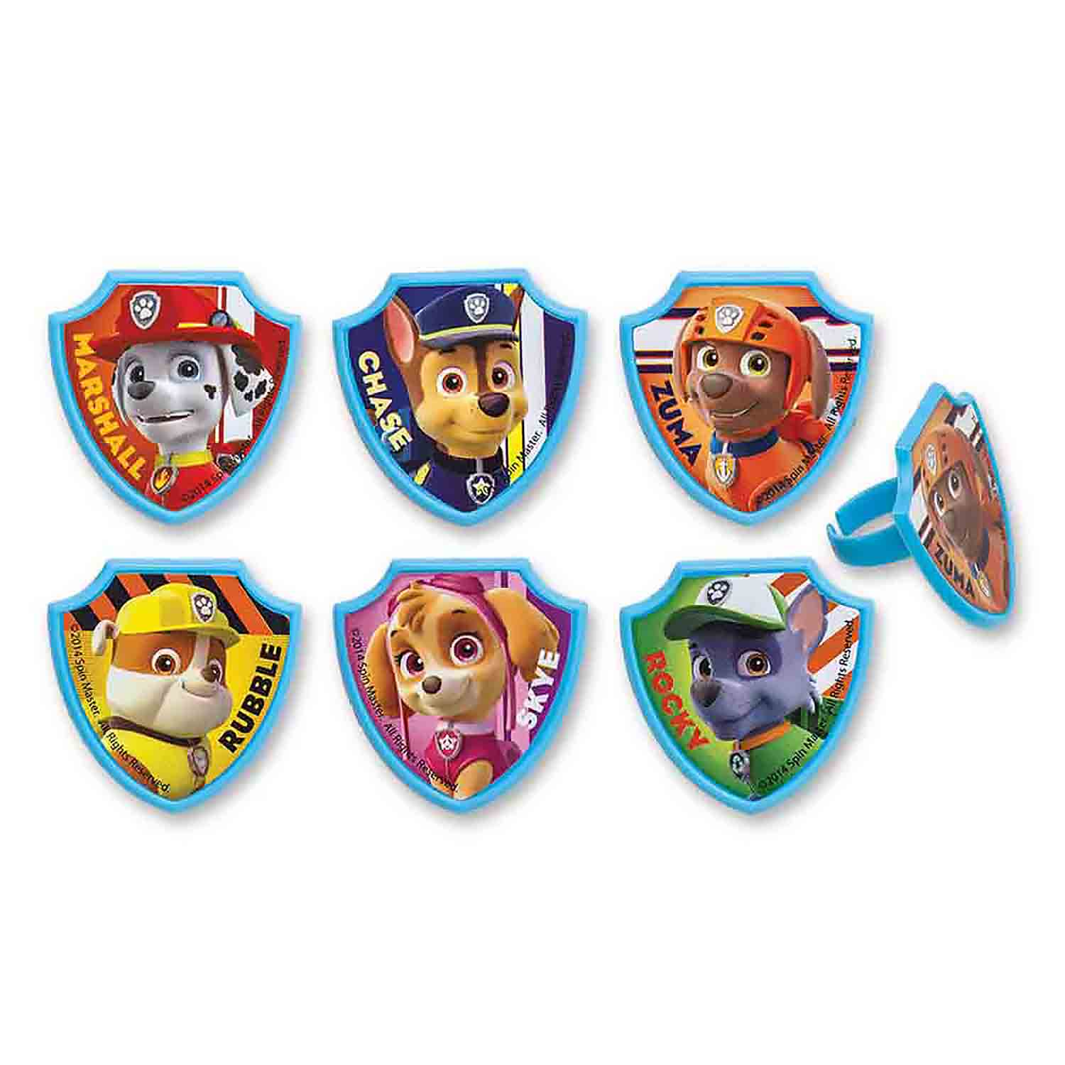 Paw Patrol Rescue Rings