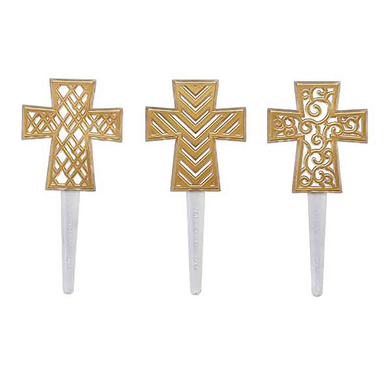 Gold Cross Picks