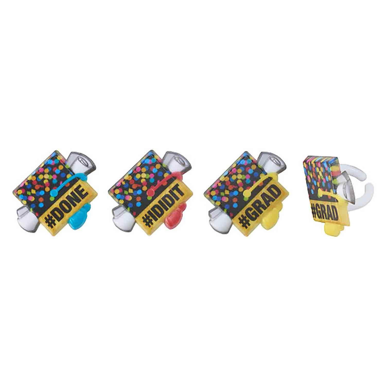Confetti Grad Rings