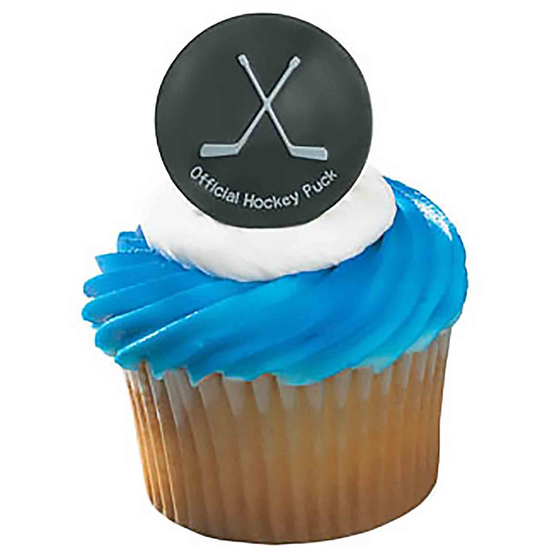 Hockey Puck Rings