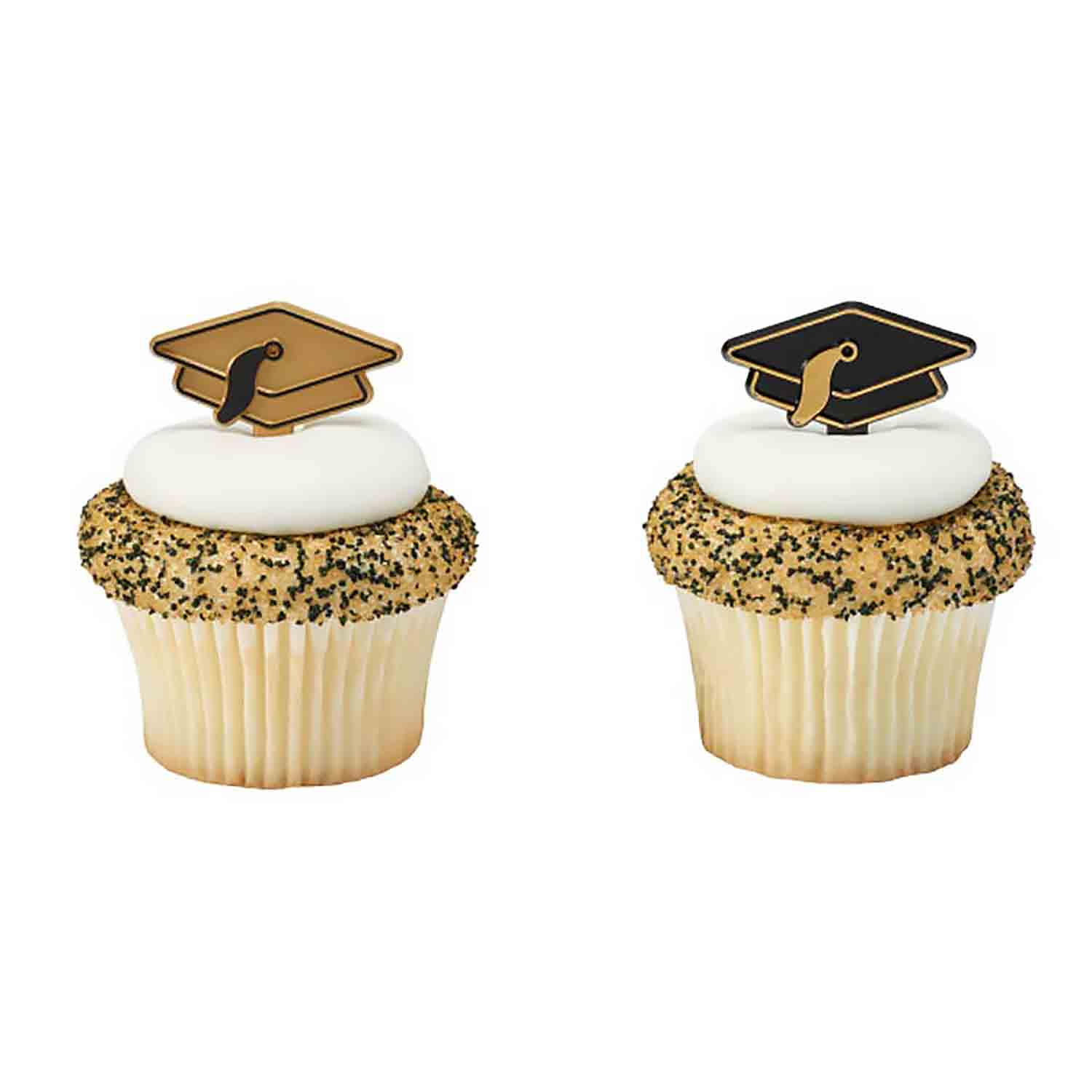 Gold and Black Grad Hat Picks