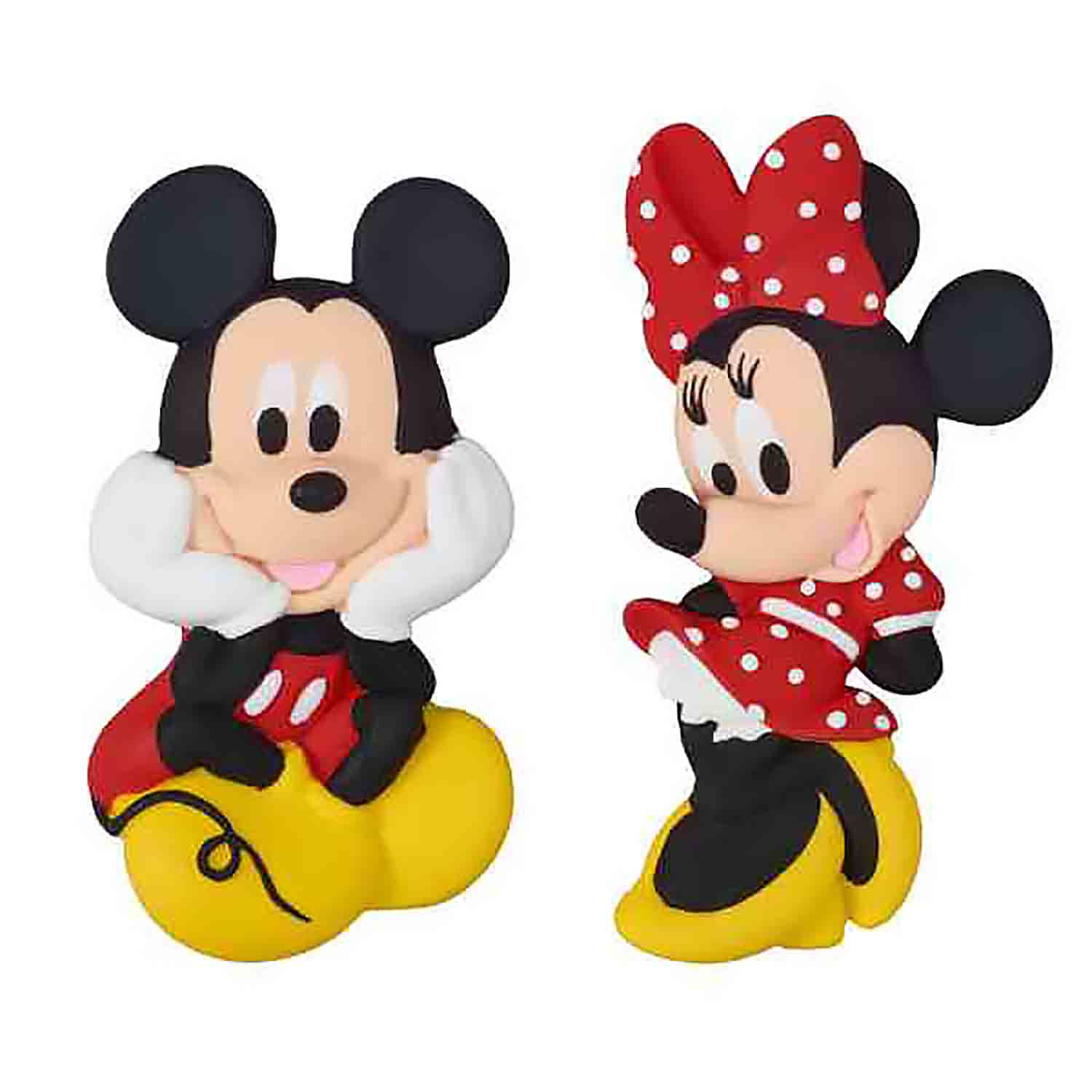 Mickey and Minnie Gum Paste Decorations