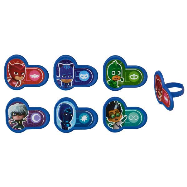 PJ Mask Hero & Villians Rings