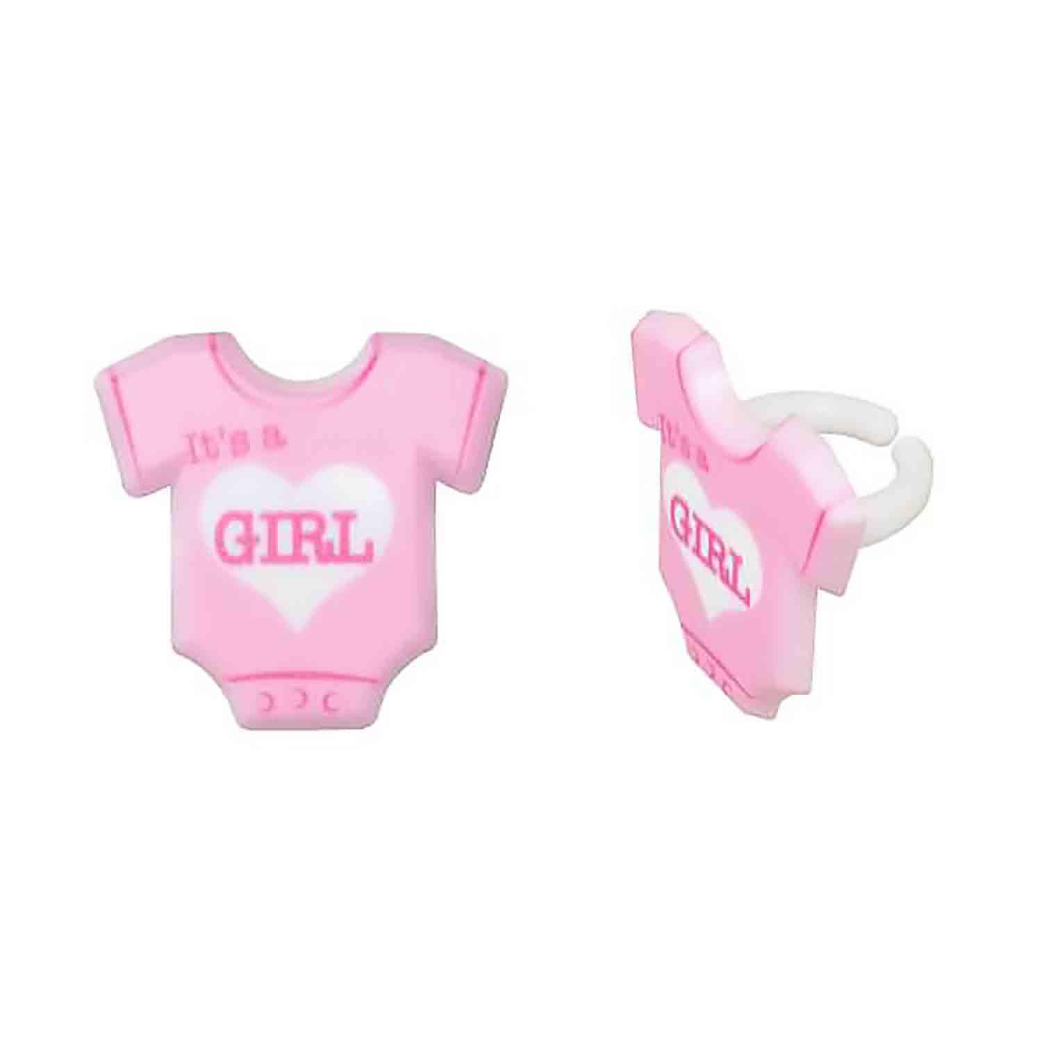 It's a Girl Bodysuit Rings