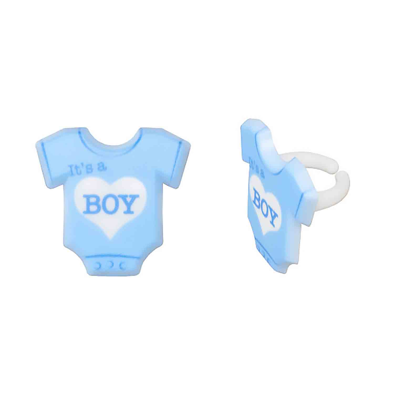 It's a Boy Bodysuit Rings
