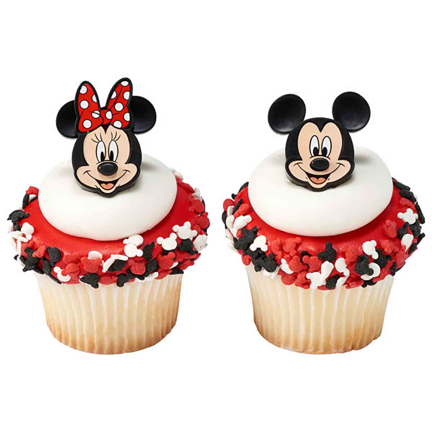 Mickey Mouse and Minnie Mouse Rings