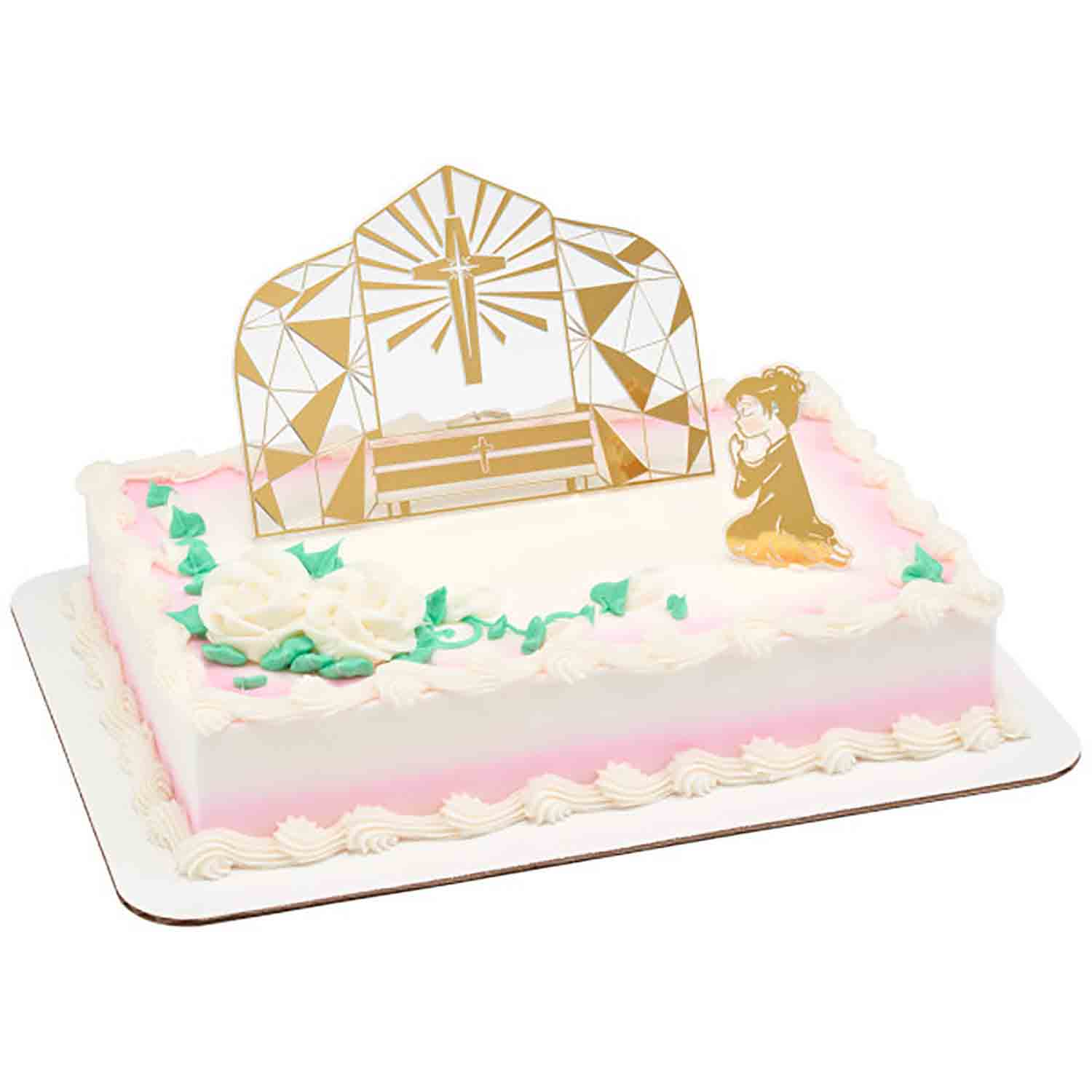 Girl Communion Cake Kit