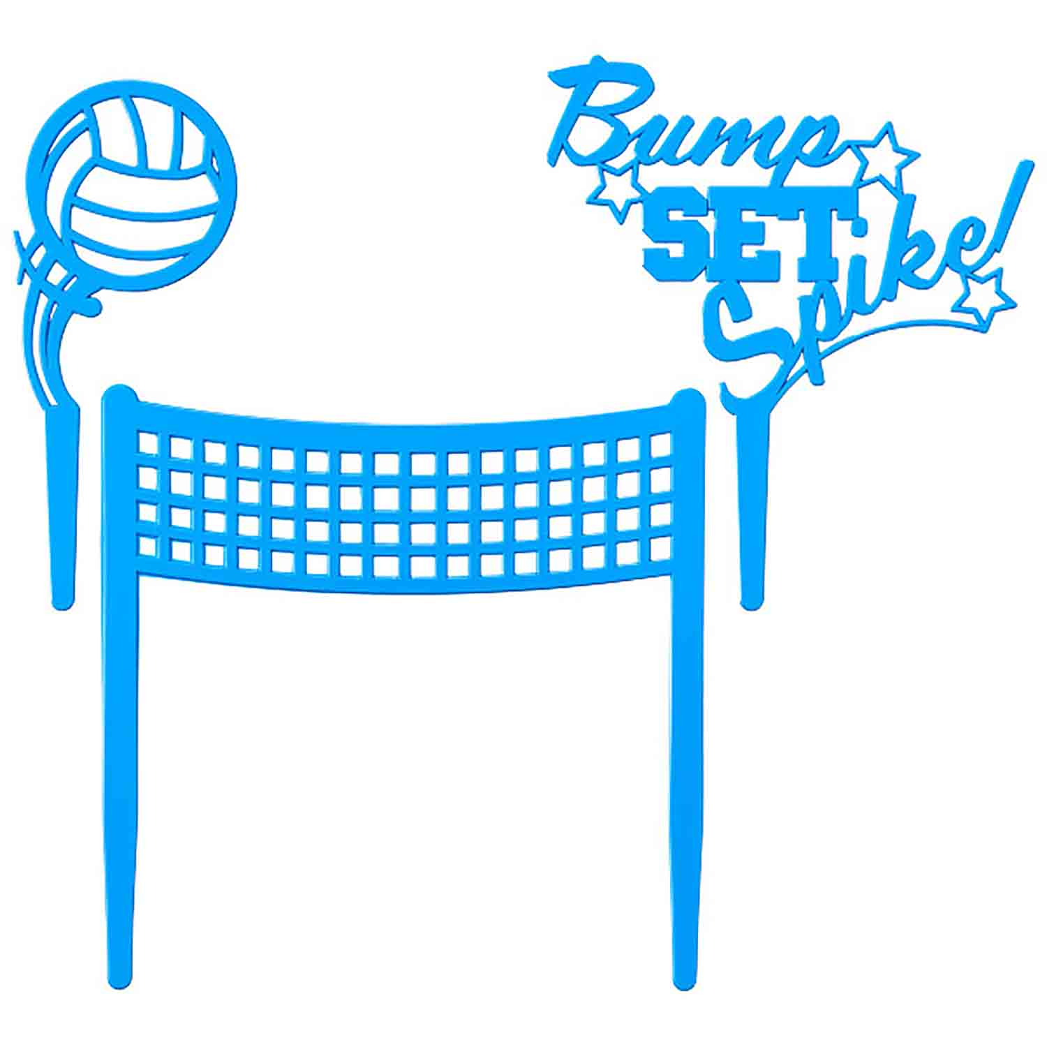 Bump, Set, Spike Cake Kit