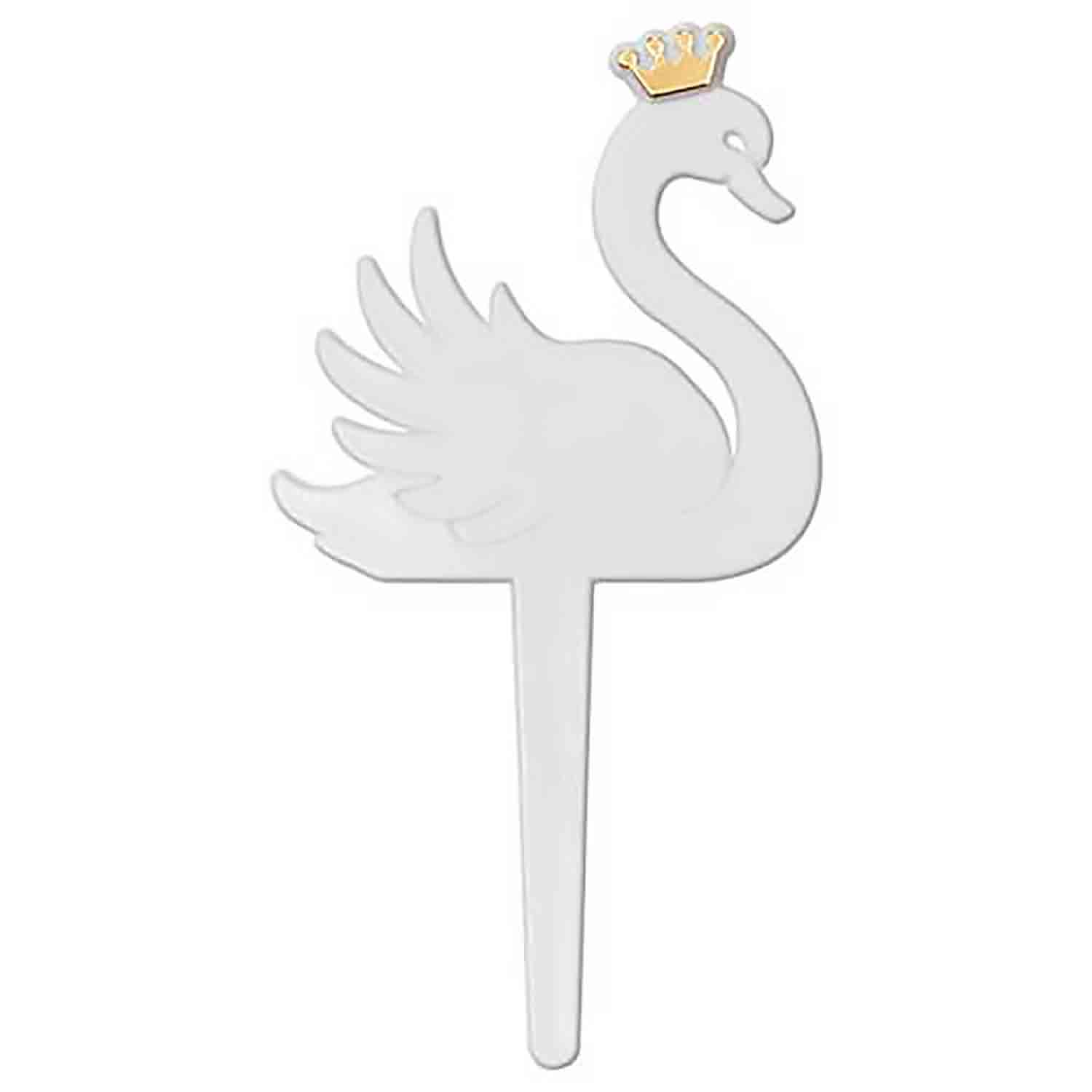 Mini Princess Swan Picks
