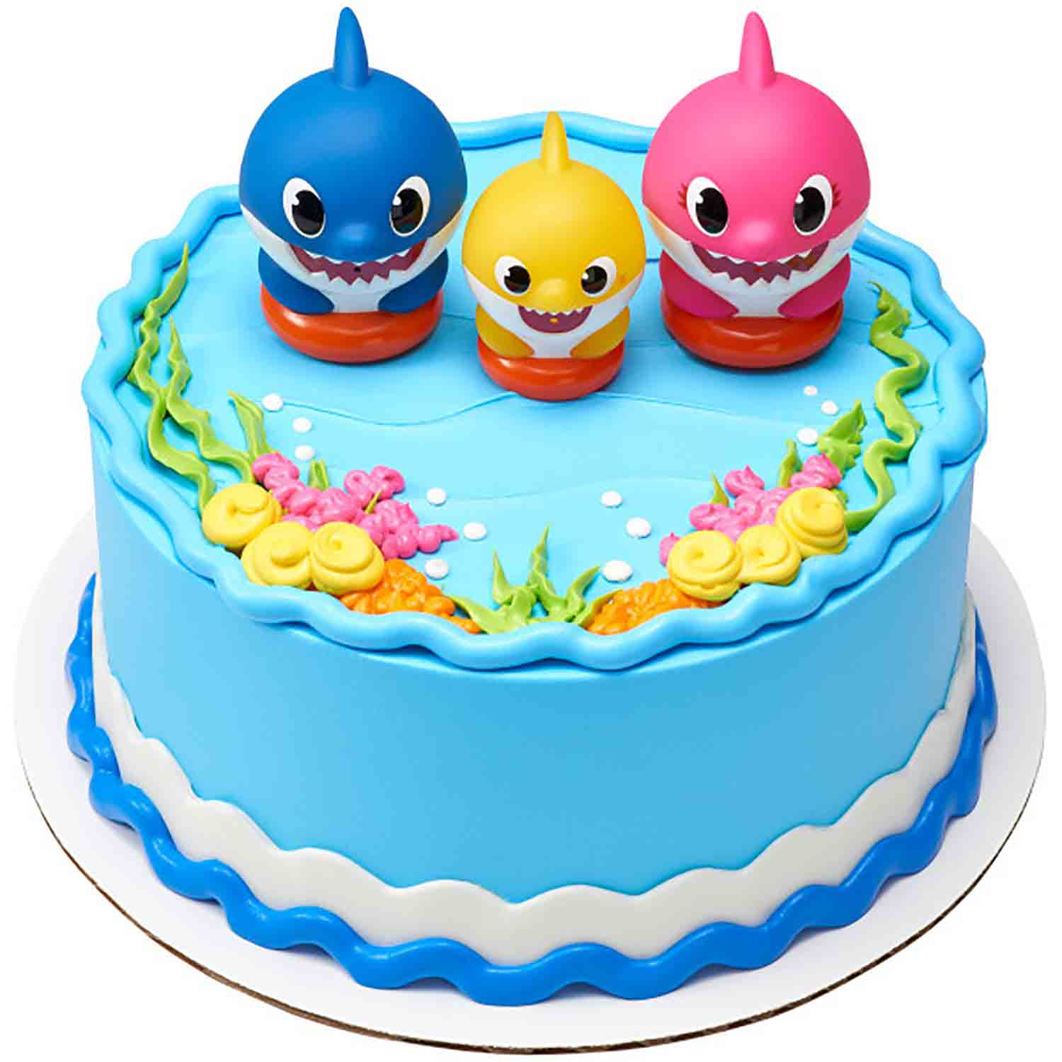 Baby Shark Family Cake Topper Set