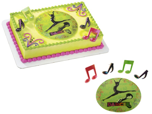Dancer Cake Top Set