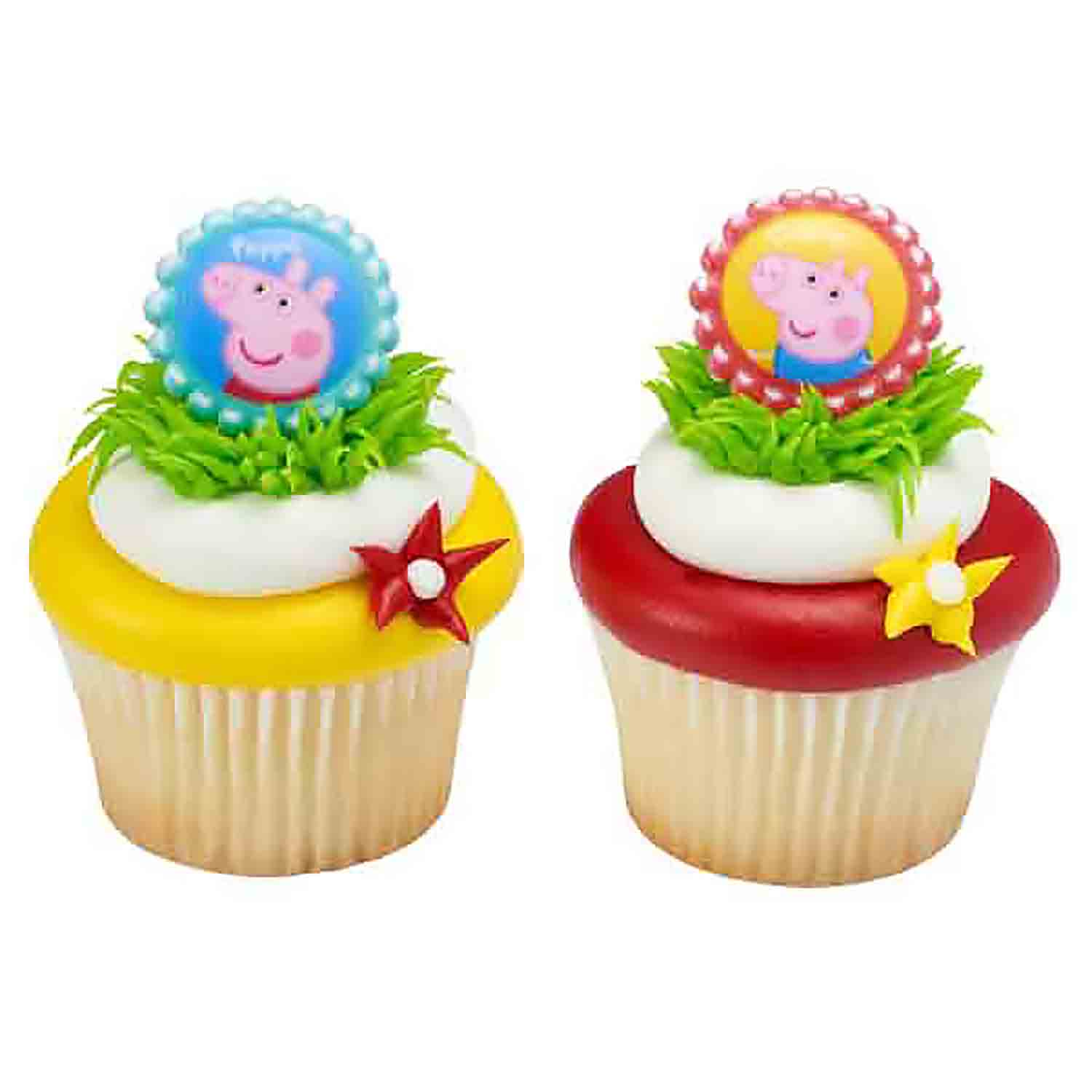 Peppa Pig and George Rings