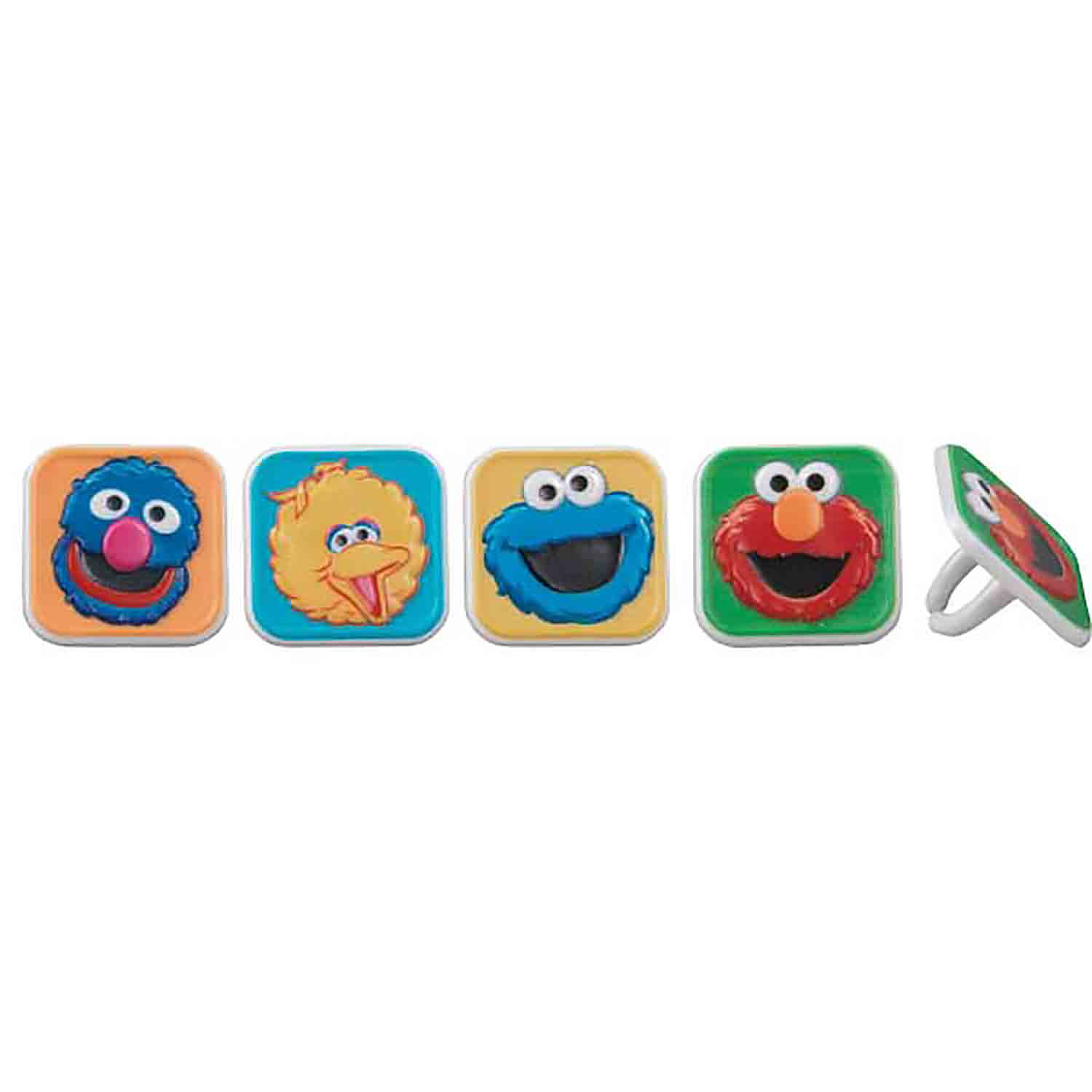 Sesame Street Block Rings