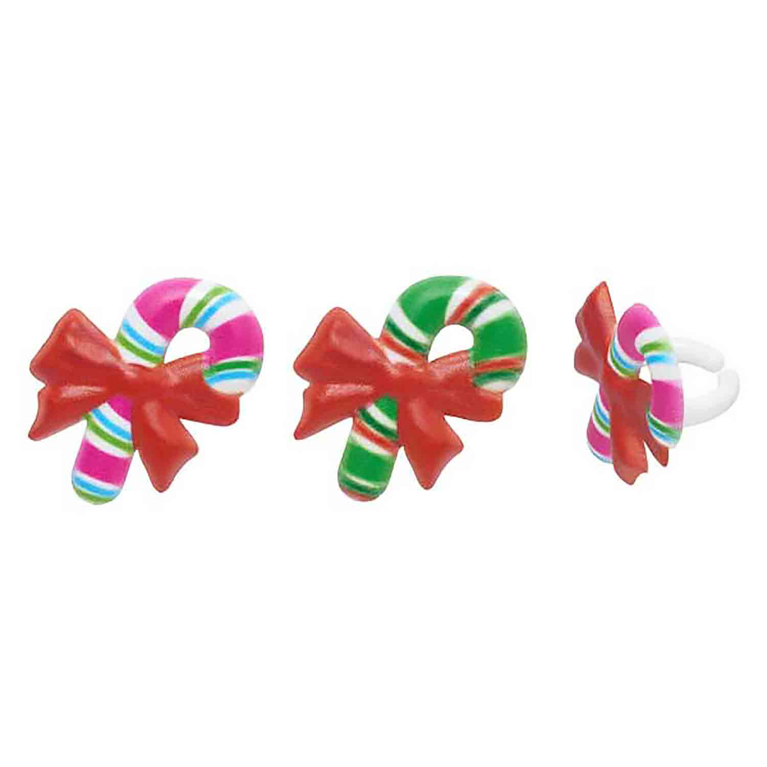 Candy Cane Rings
