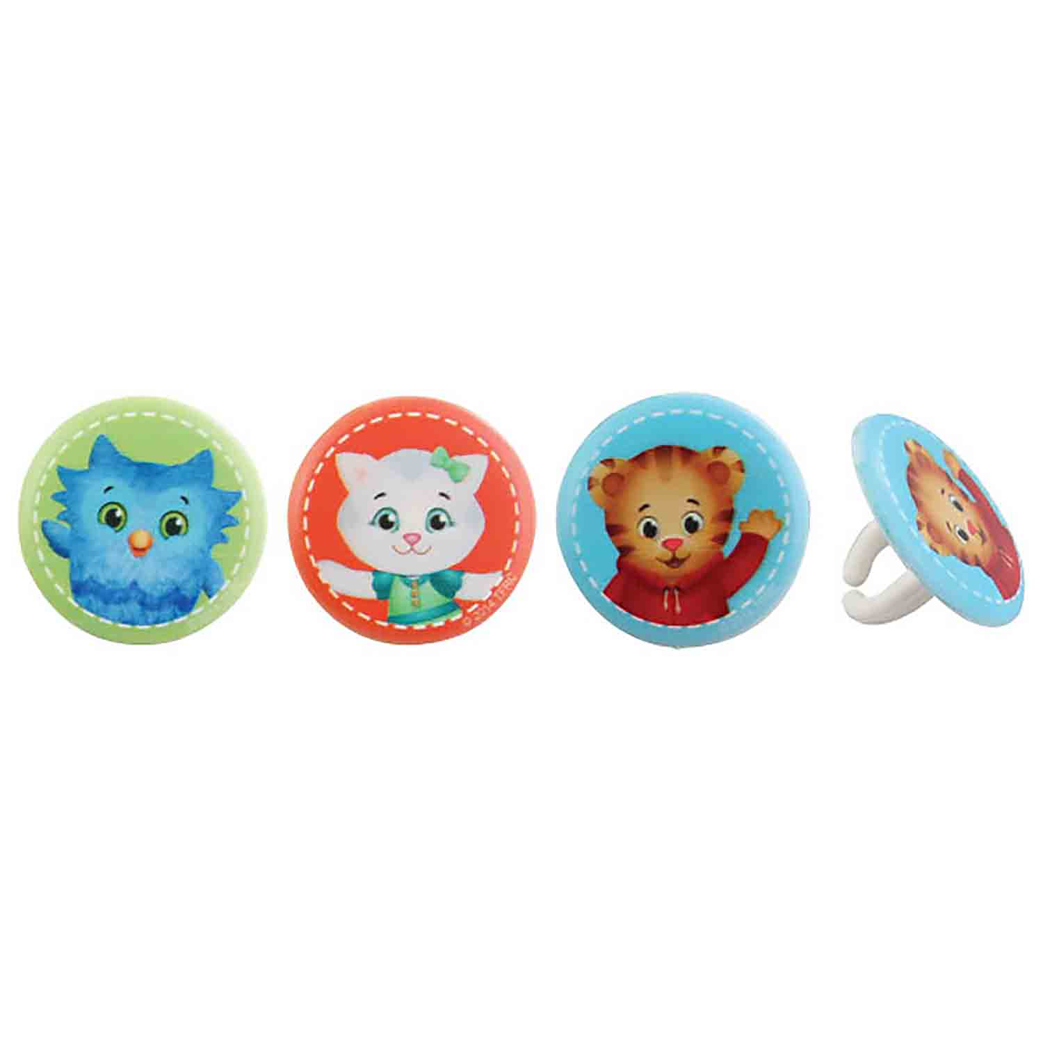 Daniel Tiger Buds Rings