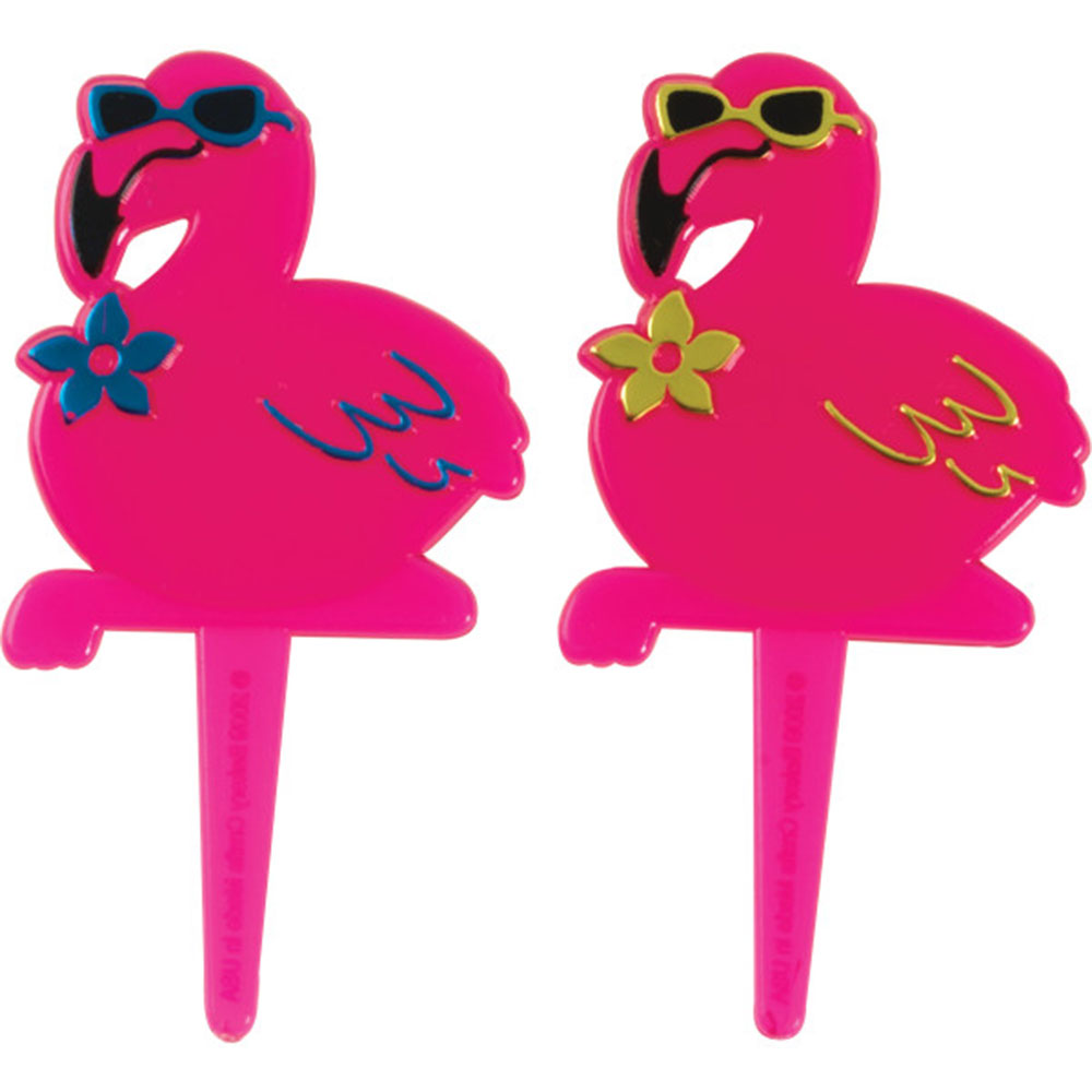 Flamingo Luau Picks