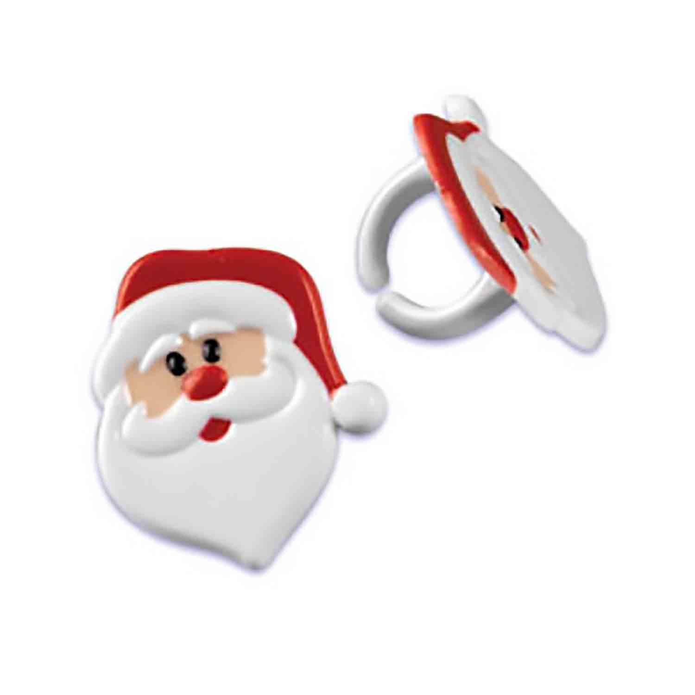 Santa Face Rings