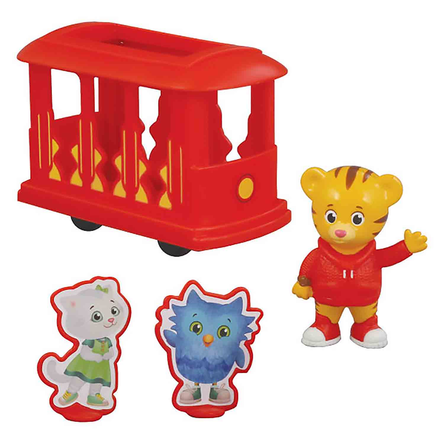 Daniel Tiger Trolley Friends Decoset