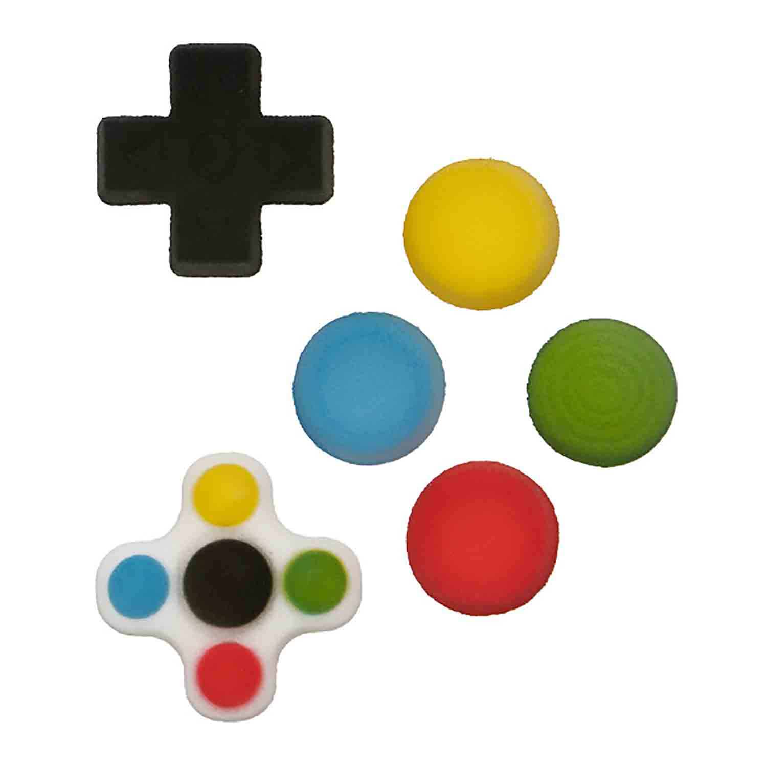 Sugar Layon - Video Gamer Button Assortment