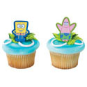 SpongeBob & Patrick Pencil Clips
