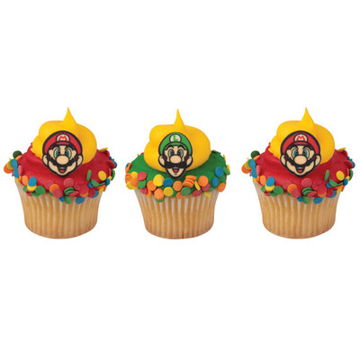 Sugarsoft® Super Mario Decorations