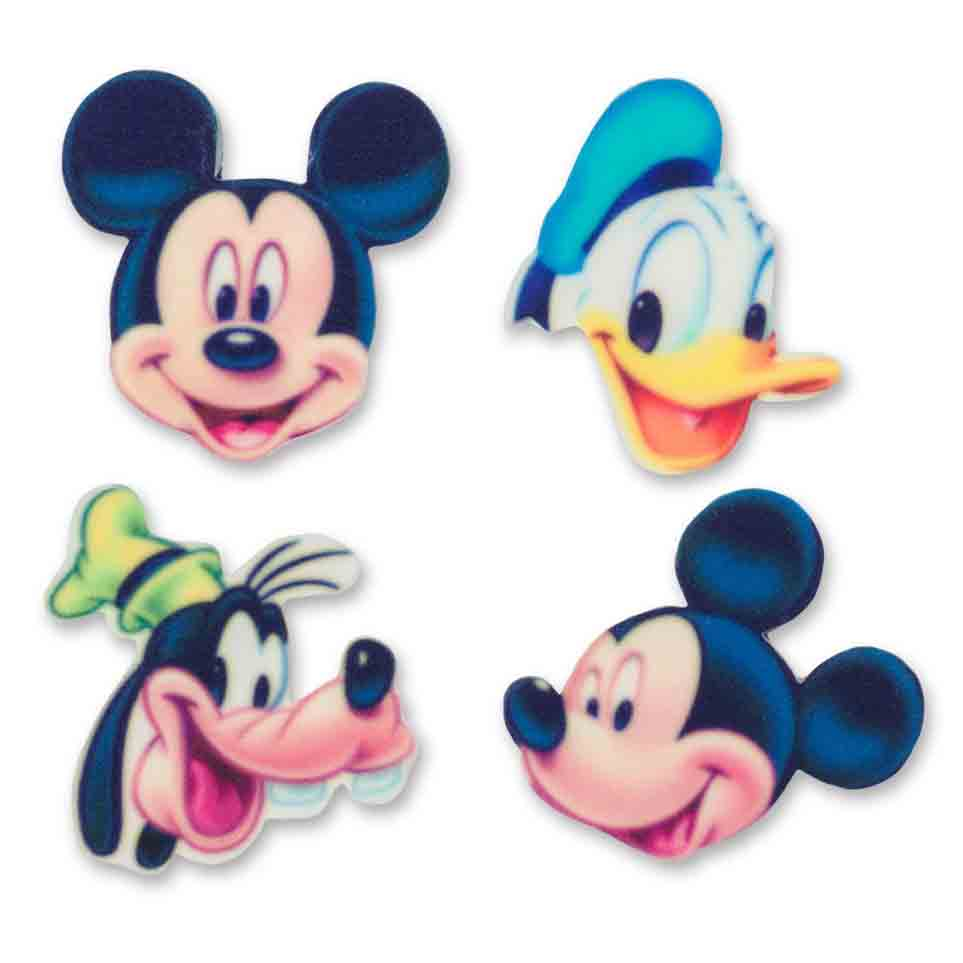 Sugarsoft® Mickey Character Decorations