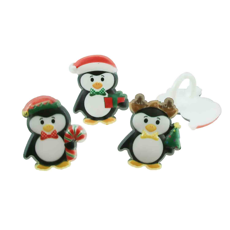 Christmas Penguins Rings