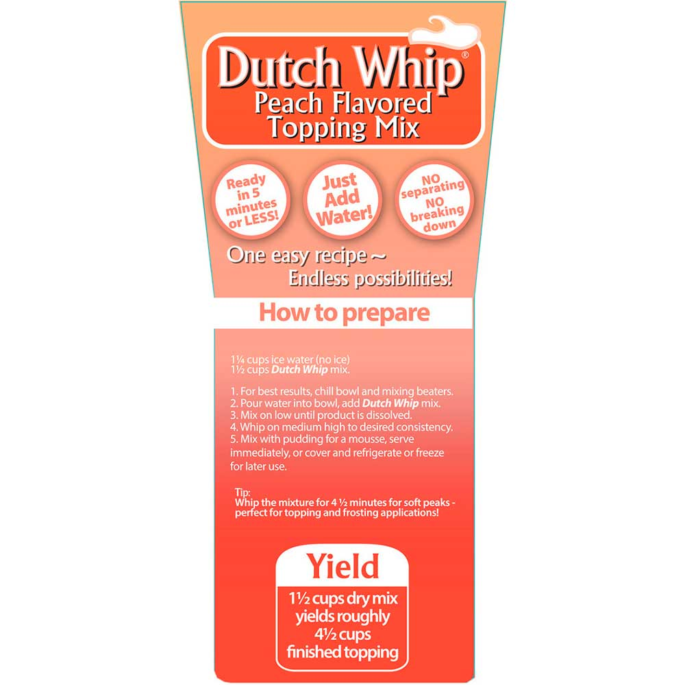 Peach Dutch Whip