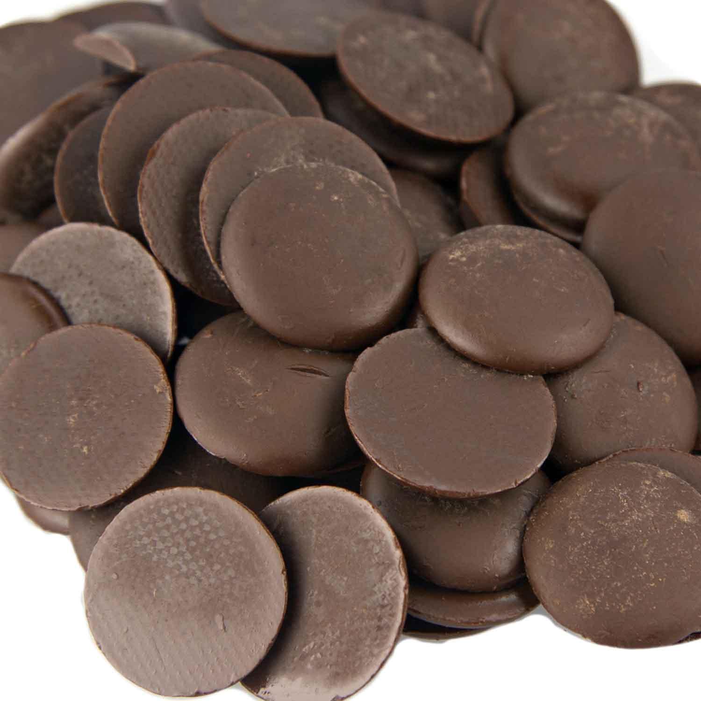 Veliche 64 Bittersweet Dark Chocolate Disks