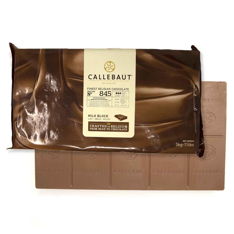 Callebaut Belgian Milk Chocolate Block