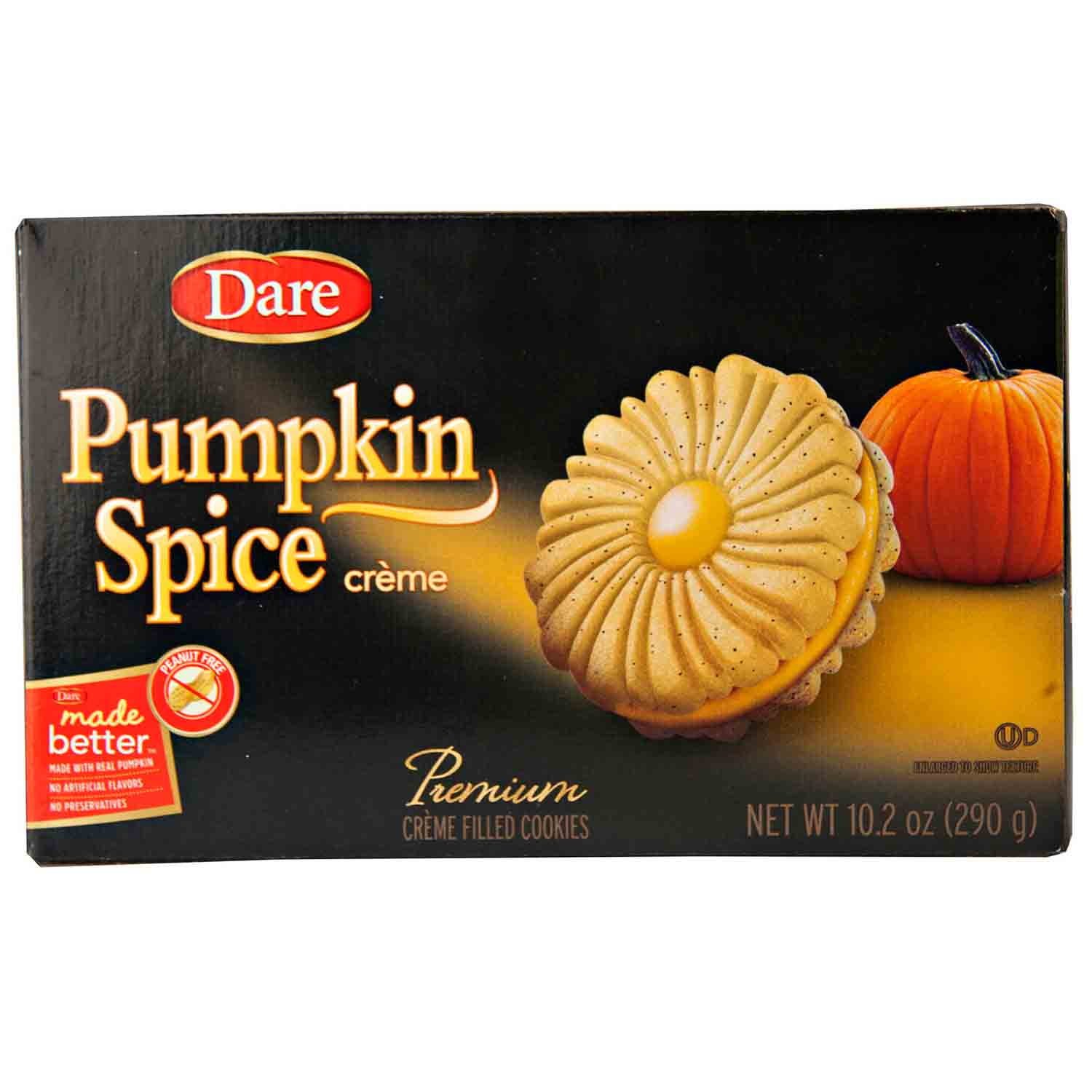 Pumpkin Spice Cookies by Dare
