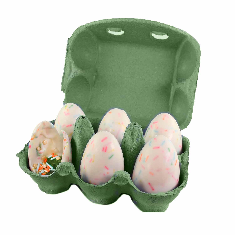 Green 6-Egg Carton